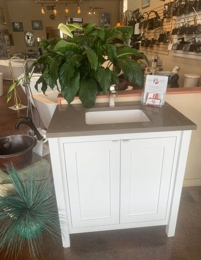 Pierponts bath and kitchen showroom sink