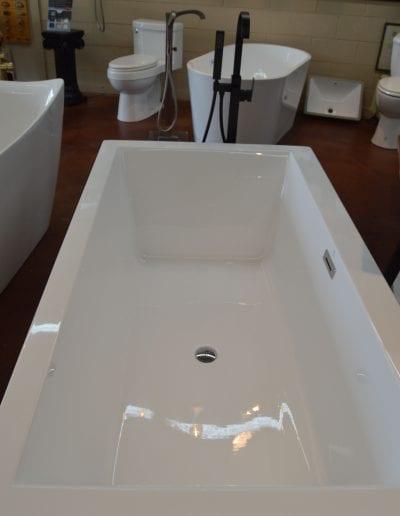 Pierponts bath and kitchen showroom tub